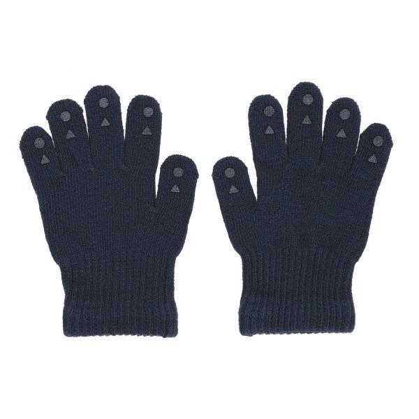 Grip Gloves Kinderhandschuhe mit Gumminoppen Dark Blue 4-5 Jahre GoBabyGo