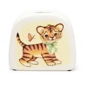 """Spardose """"Tiger"""" aus Porzellan von Kitsch Kitchen"""