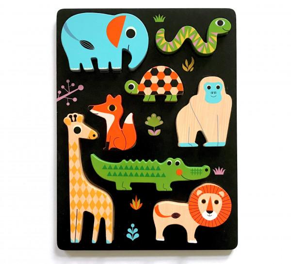 Chunky Animal Puzzle von Omm Design