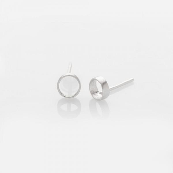 Zylinder Silber Ohrringe von Prigipo