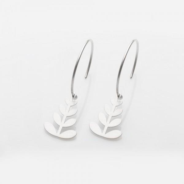 """Ohrringe Silber Hoop """"Chloe"""" von Prigipo"""