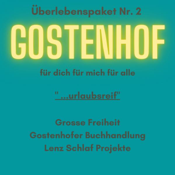 """Überlebenspaket Gostenhof Nr.2 """"Urlaubsreif"""" von Goldkind"""
