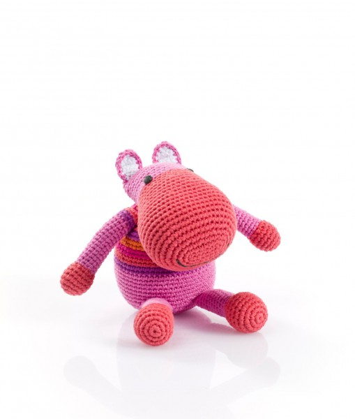 """Rassel """"Hippo"""" pink von pebble"""