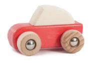 Rückzieh Auto Rot von BAJO