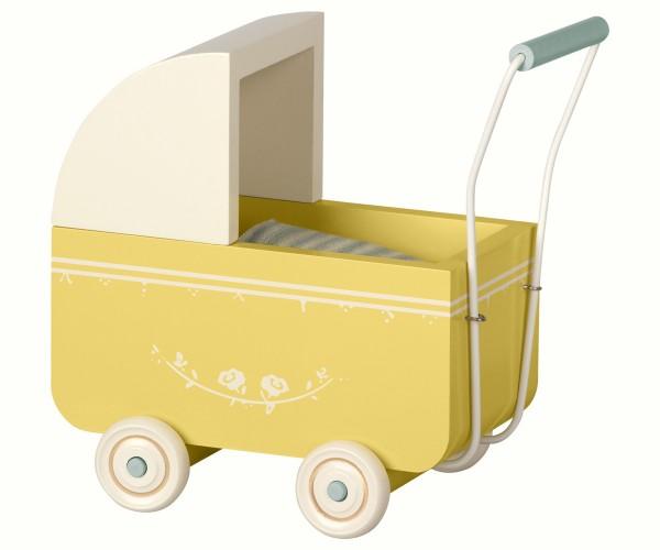 """Puppenwagen """"MY"""" gelb von Maileg"""